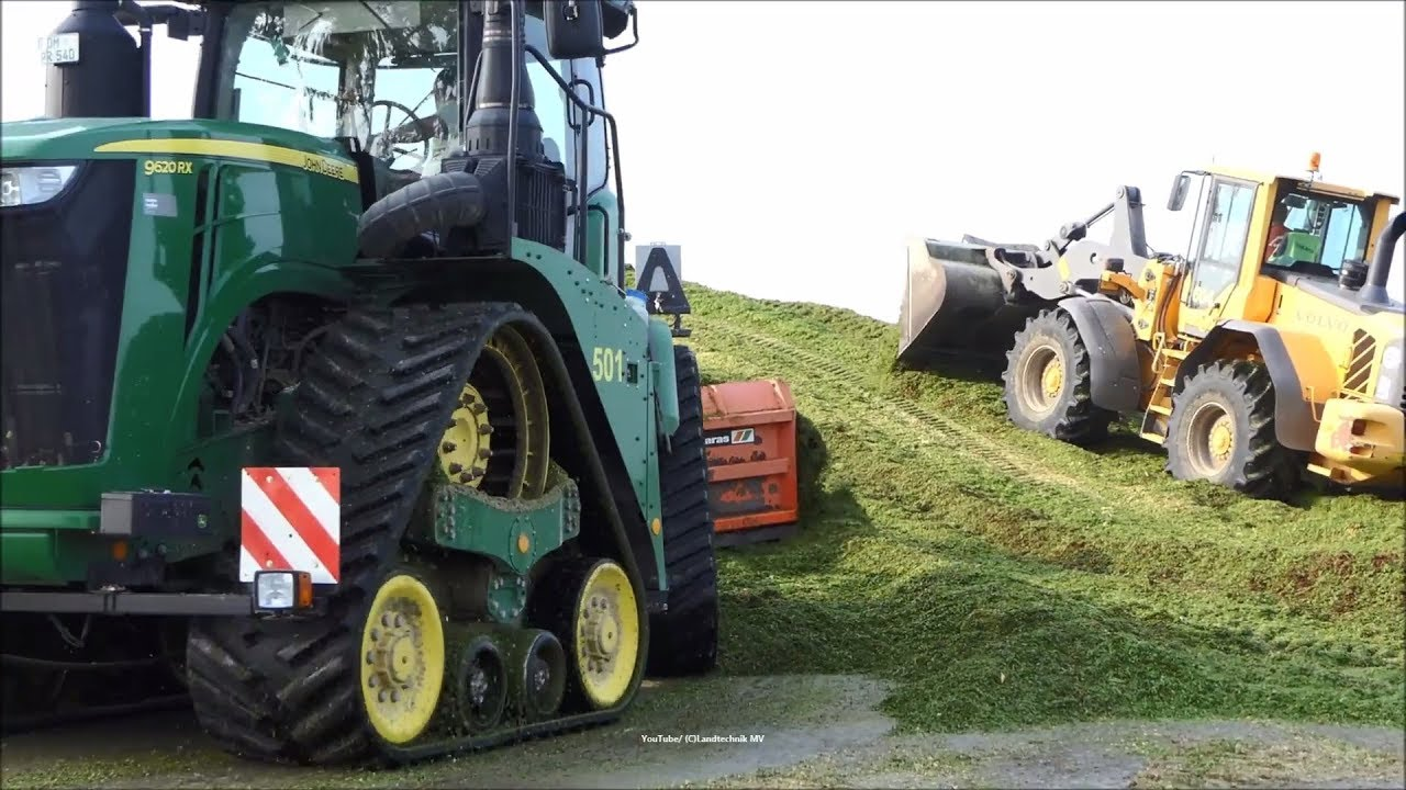 Claas-John Deere-Volvo / Keine Maissilage - No Corn Silage   2018