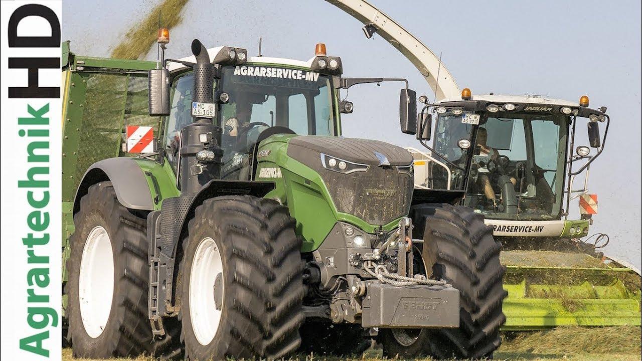 FENDT 1050 Traktoren v. Lohnunternehmen AGRARSERVICE MV | Grassilage