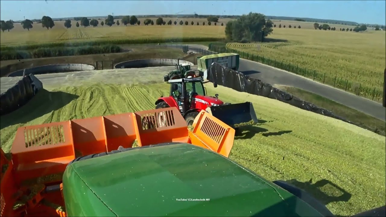Claas-Fendt-MF + / Maissilage - Corn Silage 2018   3/3
