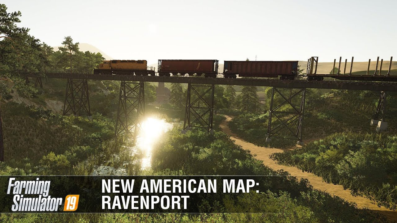 Farming Simulator 19 | New American Map Ravenport Featurette