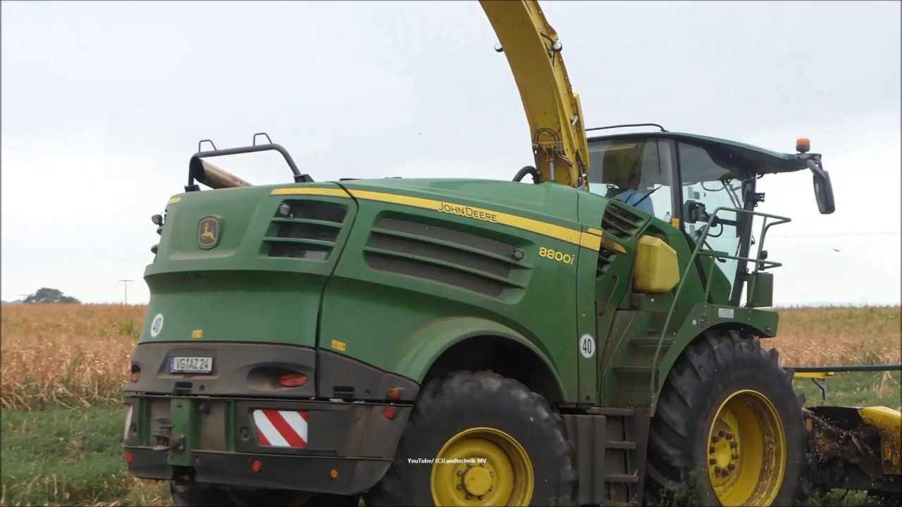 John Deere-Fendt-Claas + / Maissilage - Corn Silage 2018