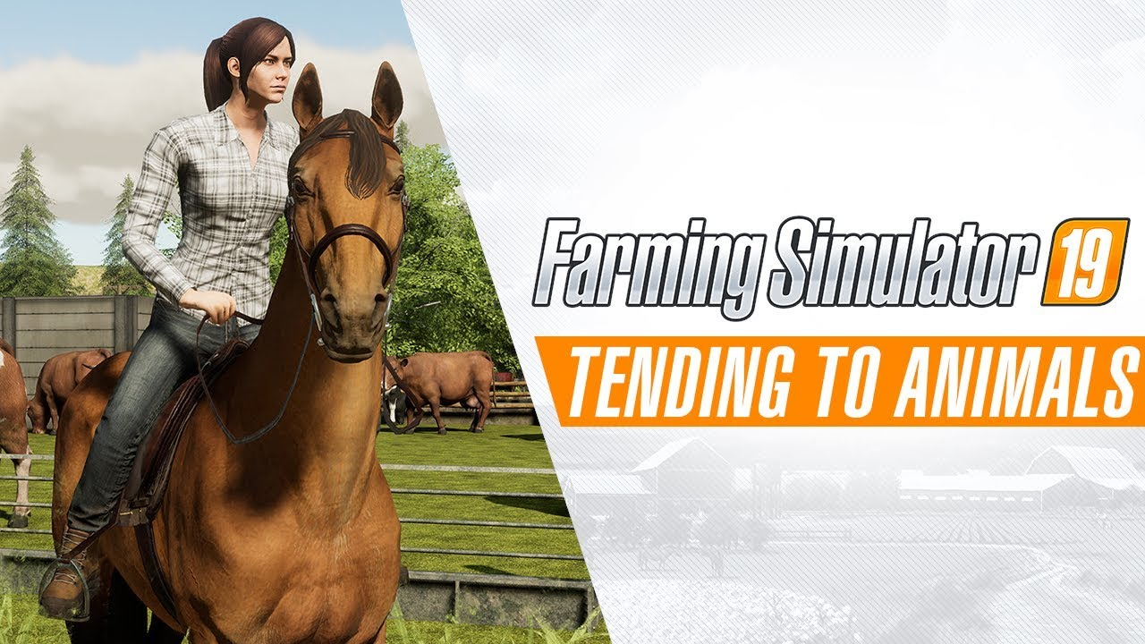 Farming Simulator 19 | Tending to Animals Gameplay Trailer #2
