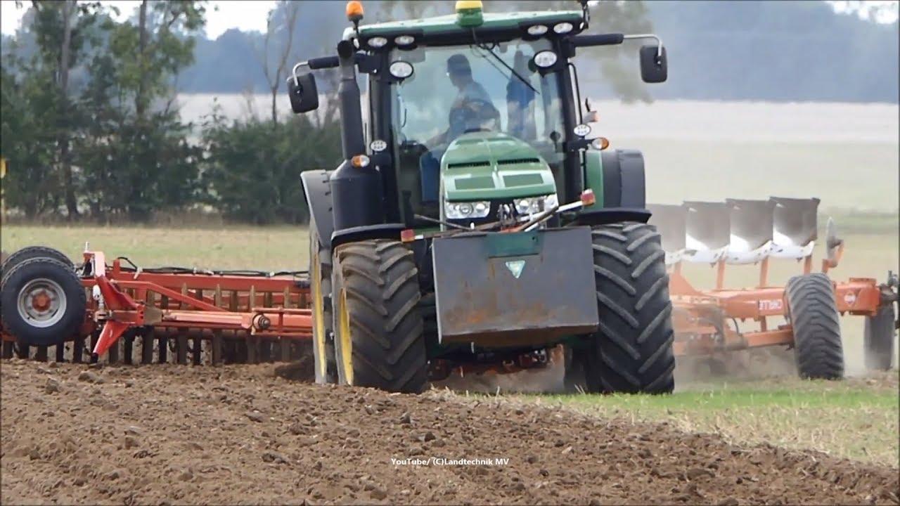 John Deere-Kuhn / Pflügen - Plowing  2018