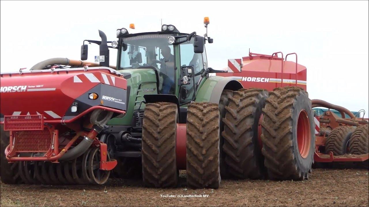 Fendt-John Deere-JCB-Horsch / Aussaat - Seeding   2018