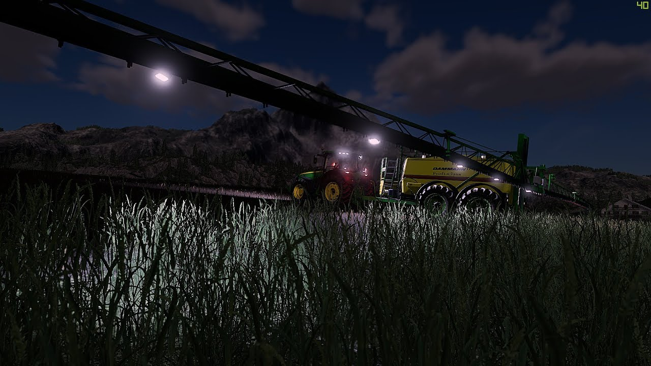 Dammann Profi Class 7500 goes to the Farming Simulator 19