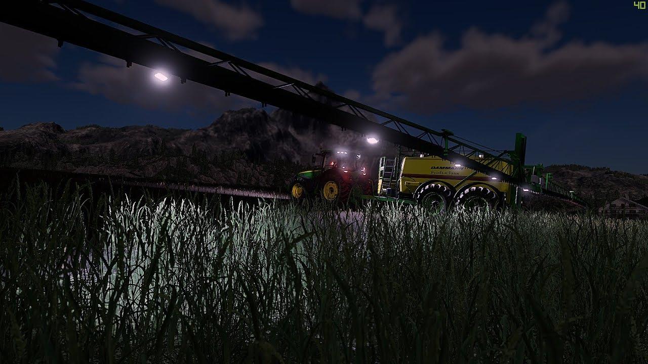 Dammann Profi Class 7500 goes to the Farming Simulator 19