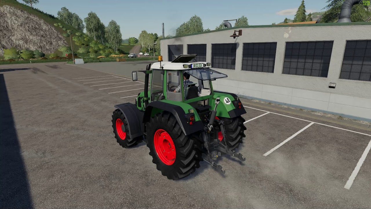 Fendt 820 Vario Animation