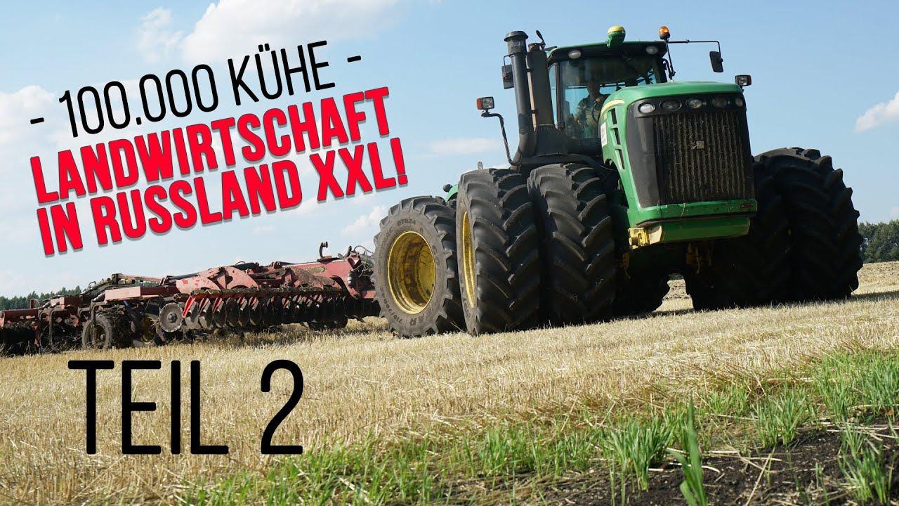 EkoNiva & Ekosem-Agrar: Einer der größten Agrarbetriebe der Welt (Russland XXL, Teil 2 in 4K)