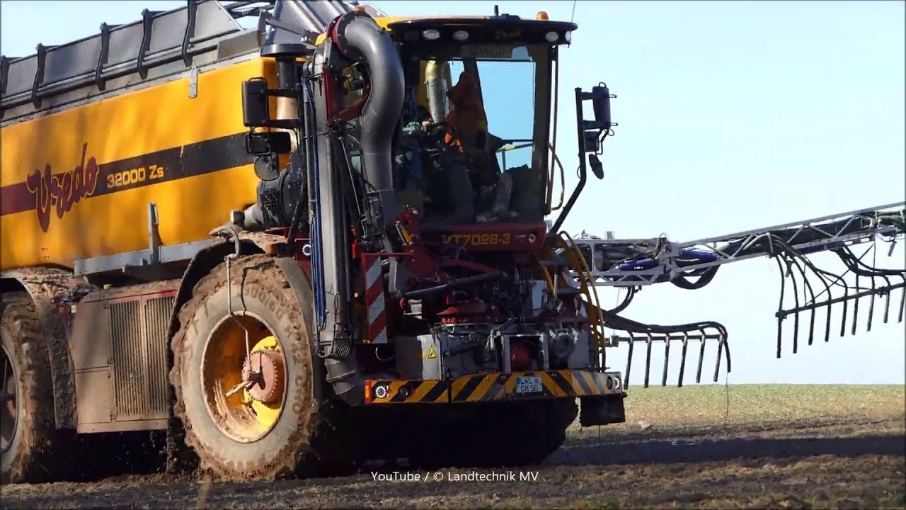 Vredo VT7028-3 - MAN /  Gülle - Liquid Slurry  2019