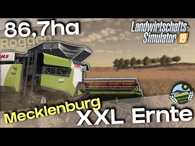 XXL-Ernte: 3x LEXION8900 / 2x ULW | Roggen | MVP19 [4K]