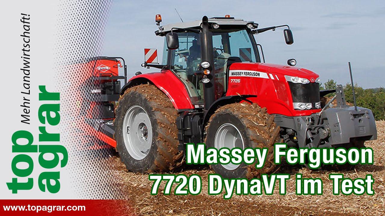 Massey Ferguson 7720 DynaVT im top agrar-Praxistest