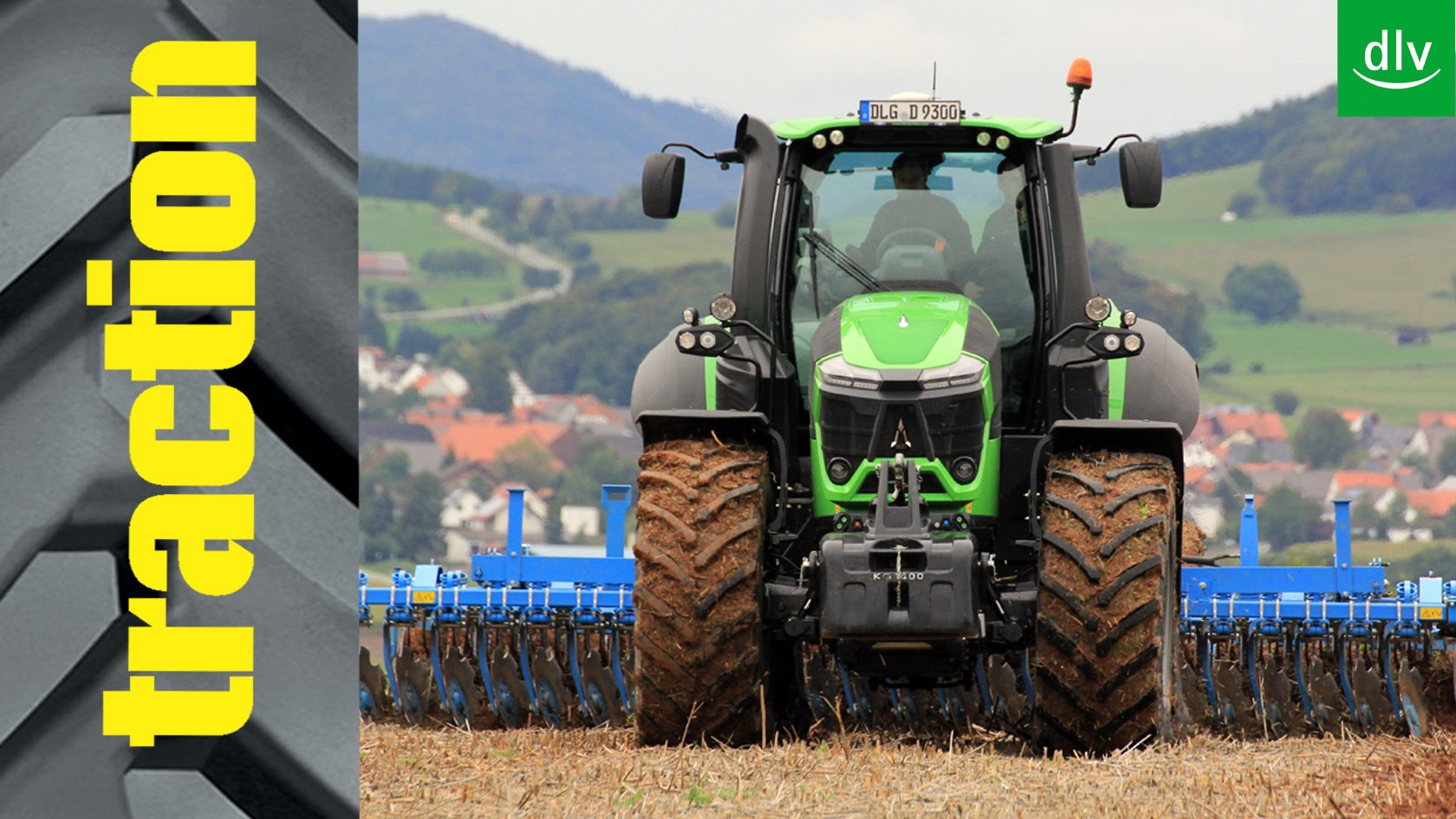 Deutz-Fahr Agrotron 9340 TTV im traction-Erstkontakt