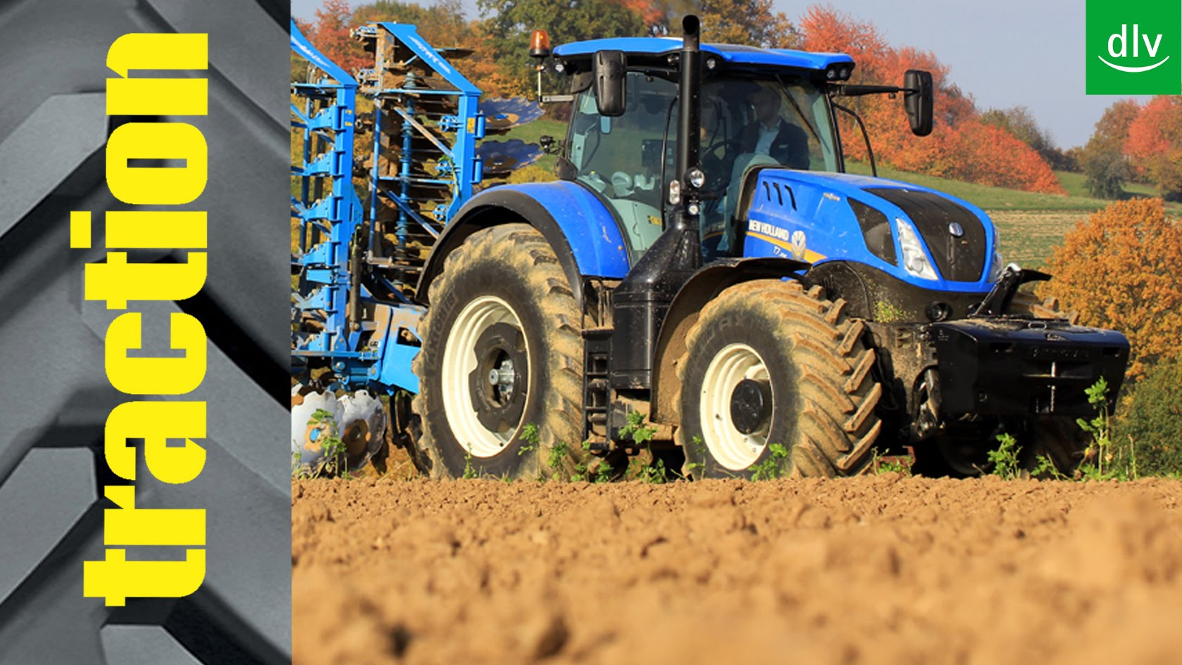 New Holland T7.315 im traction-Erstkontakt